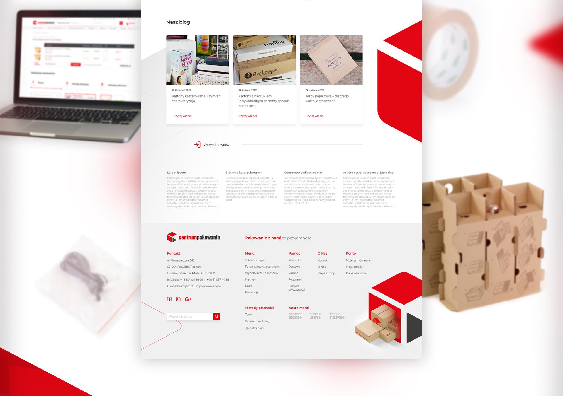 Centrum Pakowania - Realizacja - Agencja ROXART