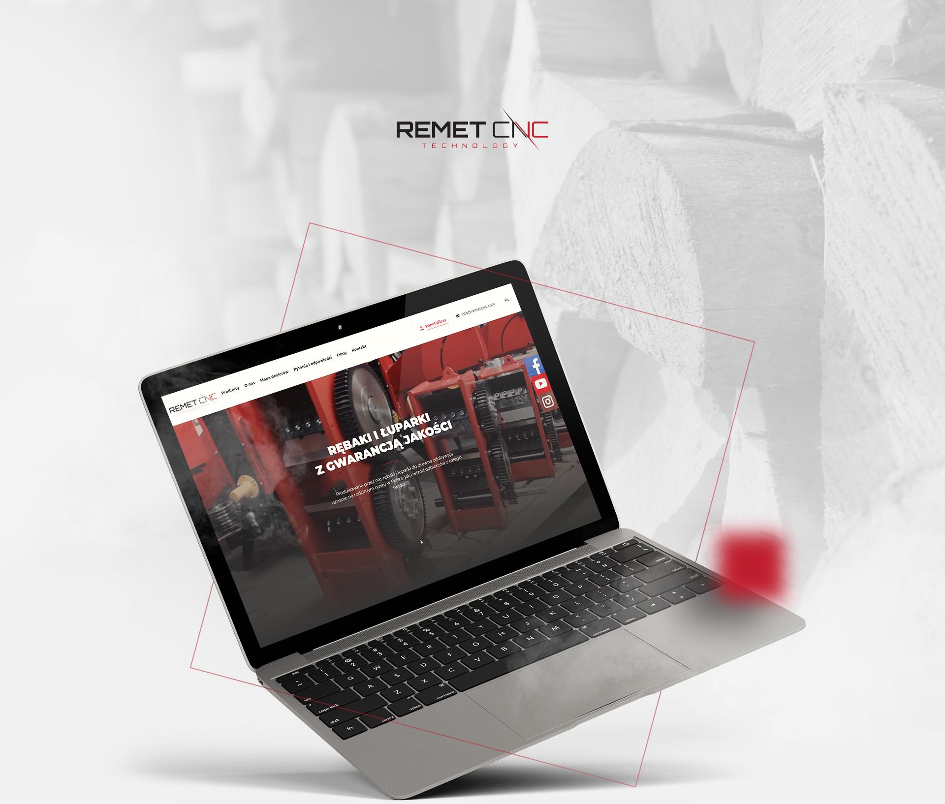 REMET CNC - Realizacja - Agencja ROXART