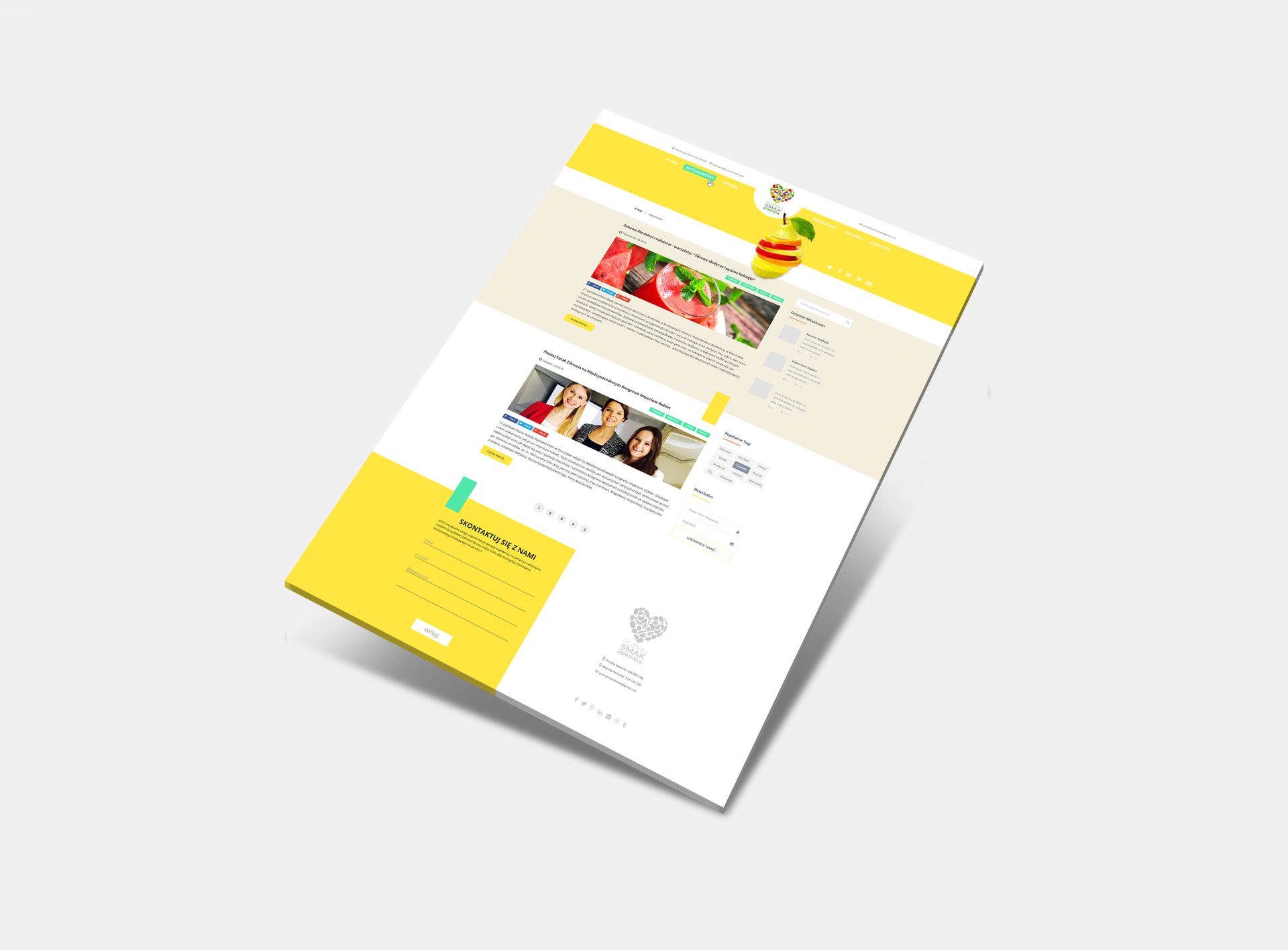 Poznaj smak zdrowia - Realizacja - Agencja ROXART