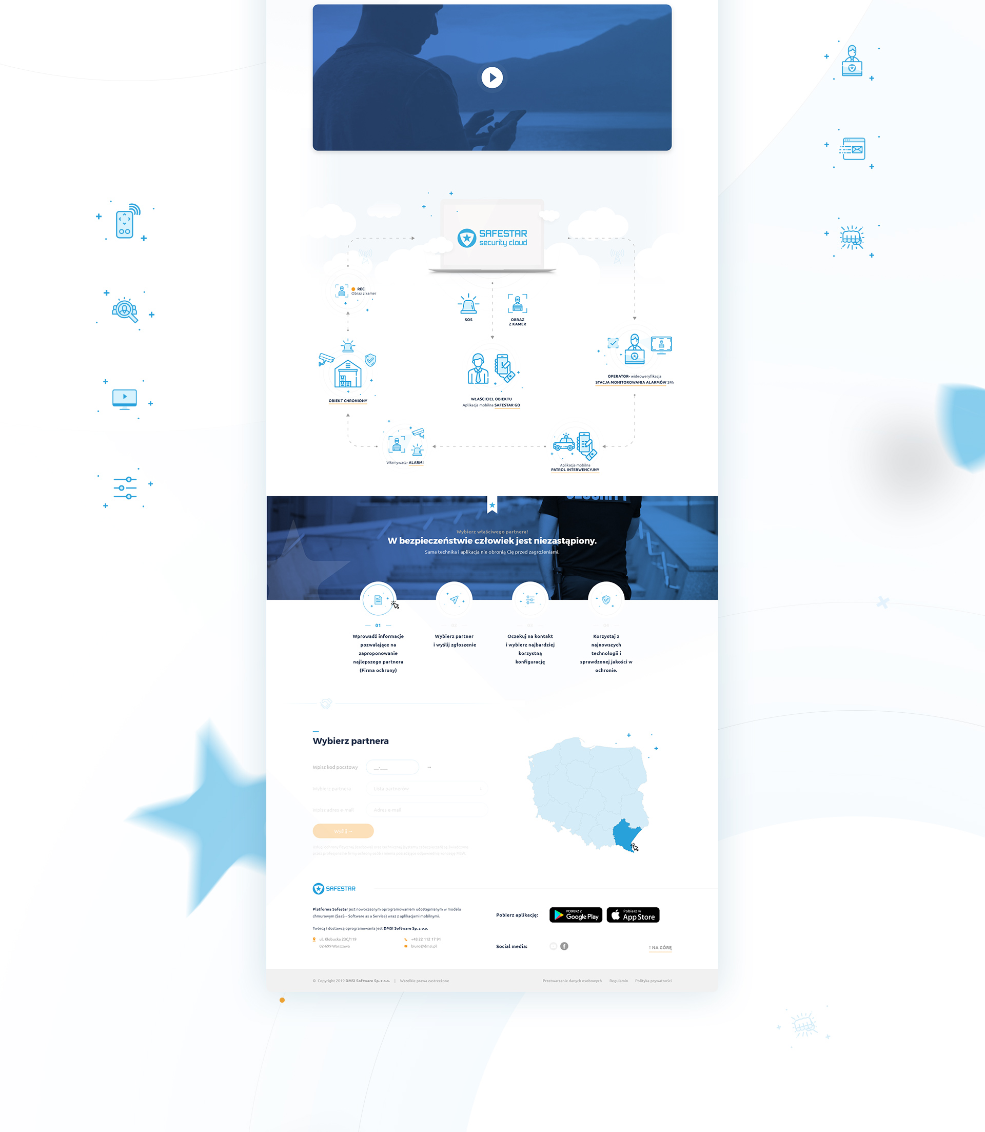 Safestar - Realizacja - Agencja ROXART