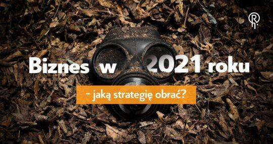 Roxart blog - Biznes w 2021 roku – jaką strategię obrać?