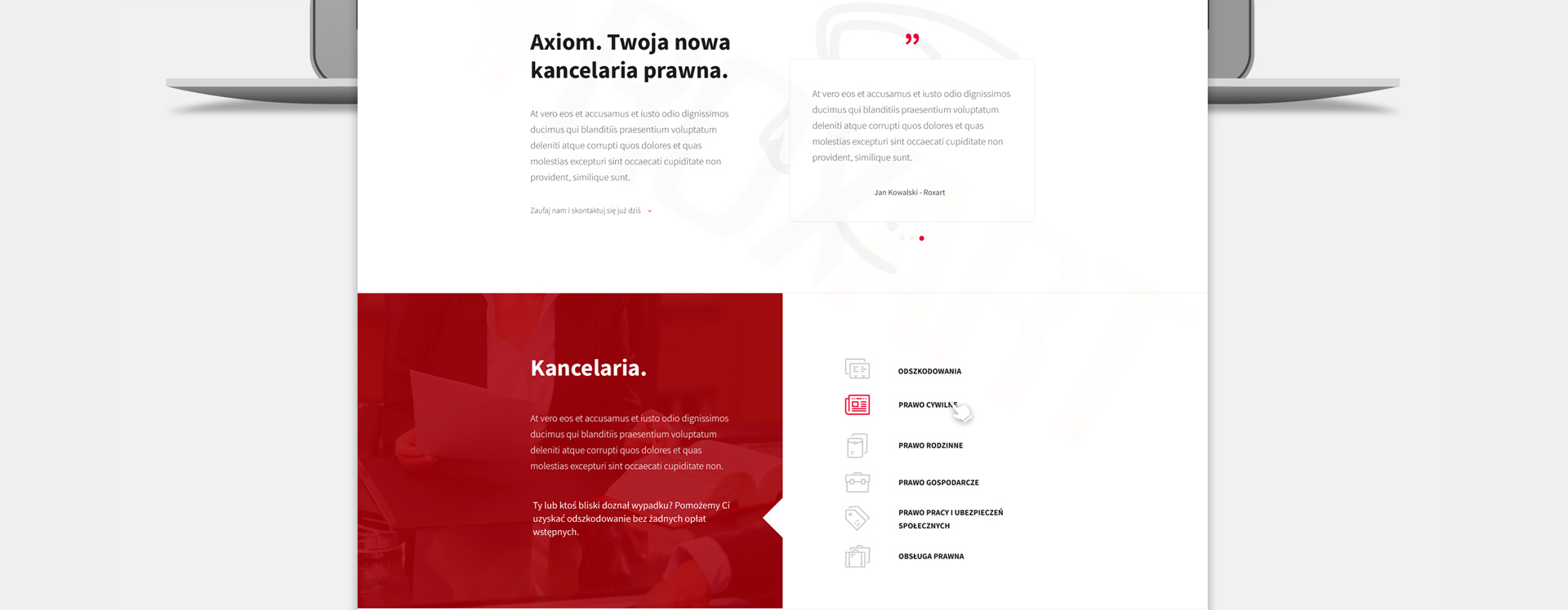 Axiom - Realizacja - Agencja ROXART