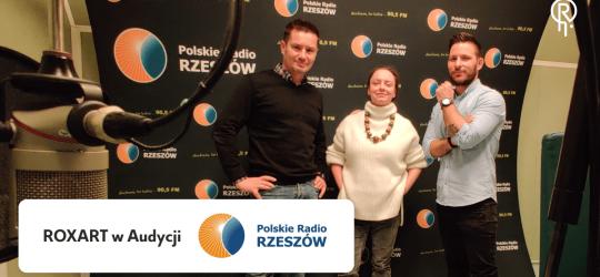 Roxart blog - ROXART w Radio Rzeszów