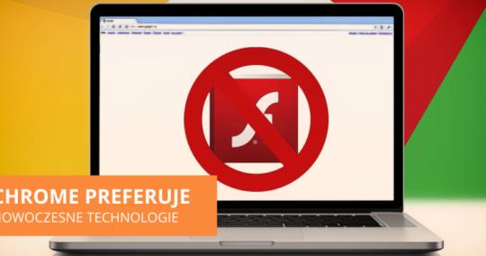 Roxart blog - Chrome preferuje nowoczesne technologie