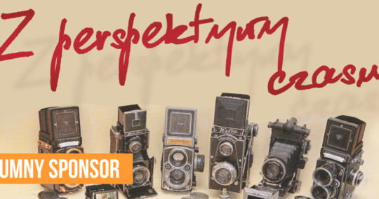 """Roxart blog - Dumny sponsor wystawy """"Z perspektywy czasu""""."""