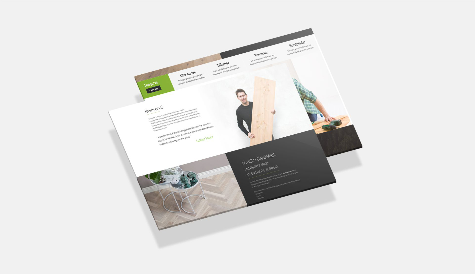 Ecowood - Realizacja - Agencja ROXART
