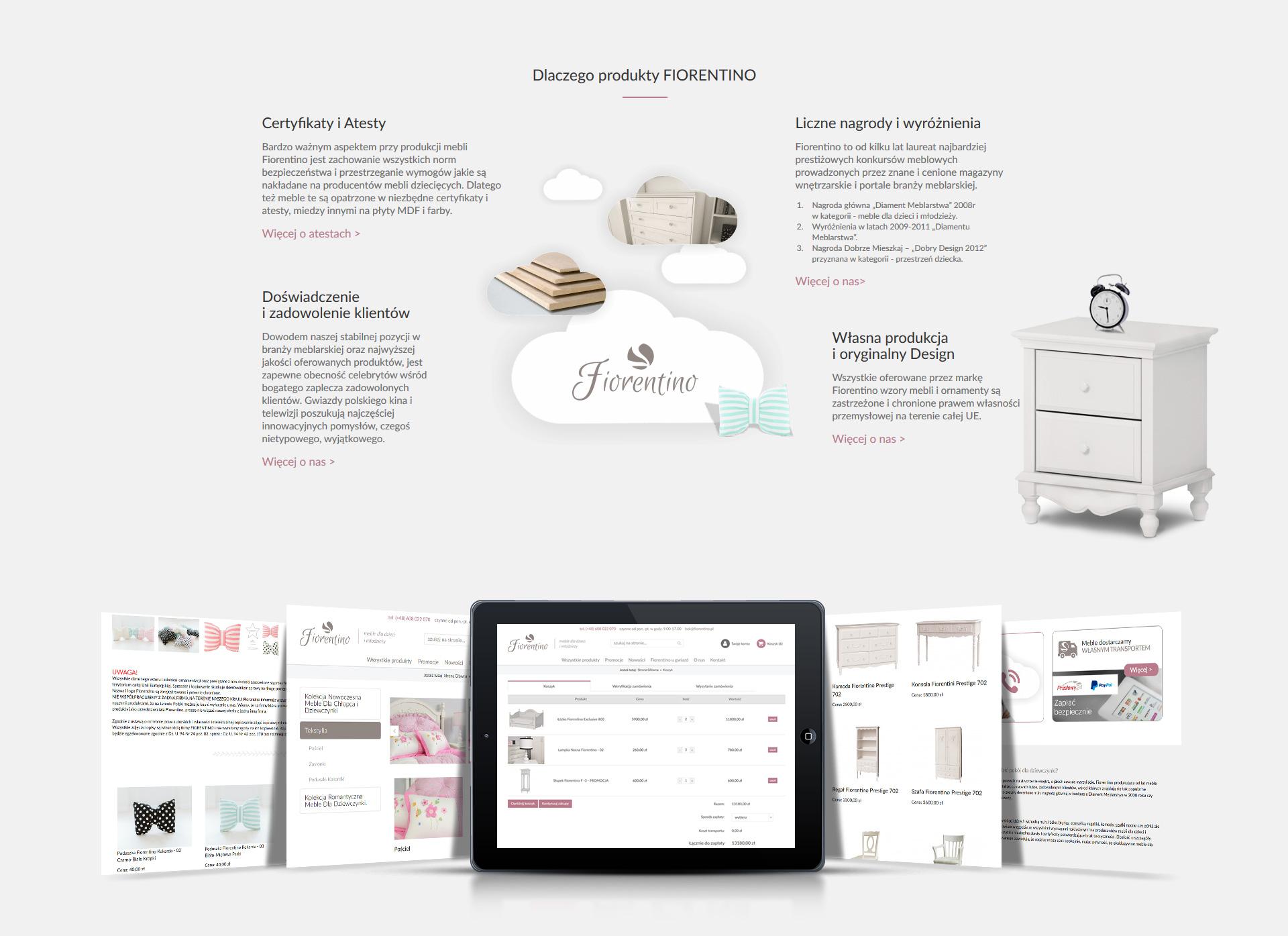 Fiorentino - Realizacja - Agencja ROXART
