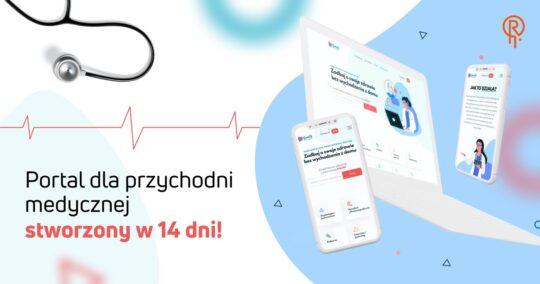 Roxart blog - Portal służący do sprzedaży i obsługi konsultacji online dla przychodni medycznej stworzony w 14 dni!