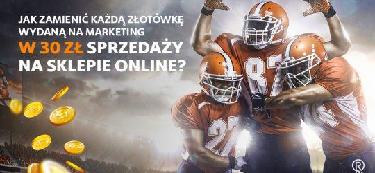 Roxart blog - Jak zamienić każdą złotówkę wydaną na marketing w 30 zł sprzedaży na sklepie online?
