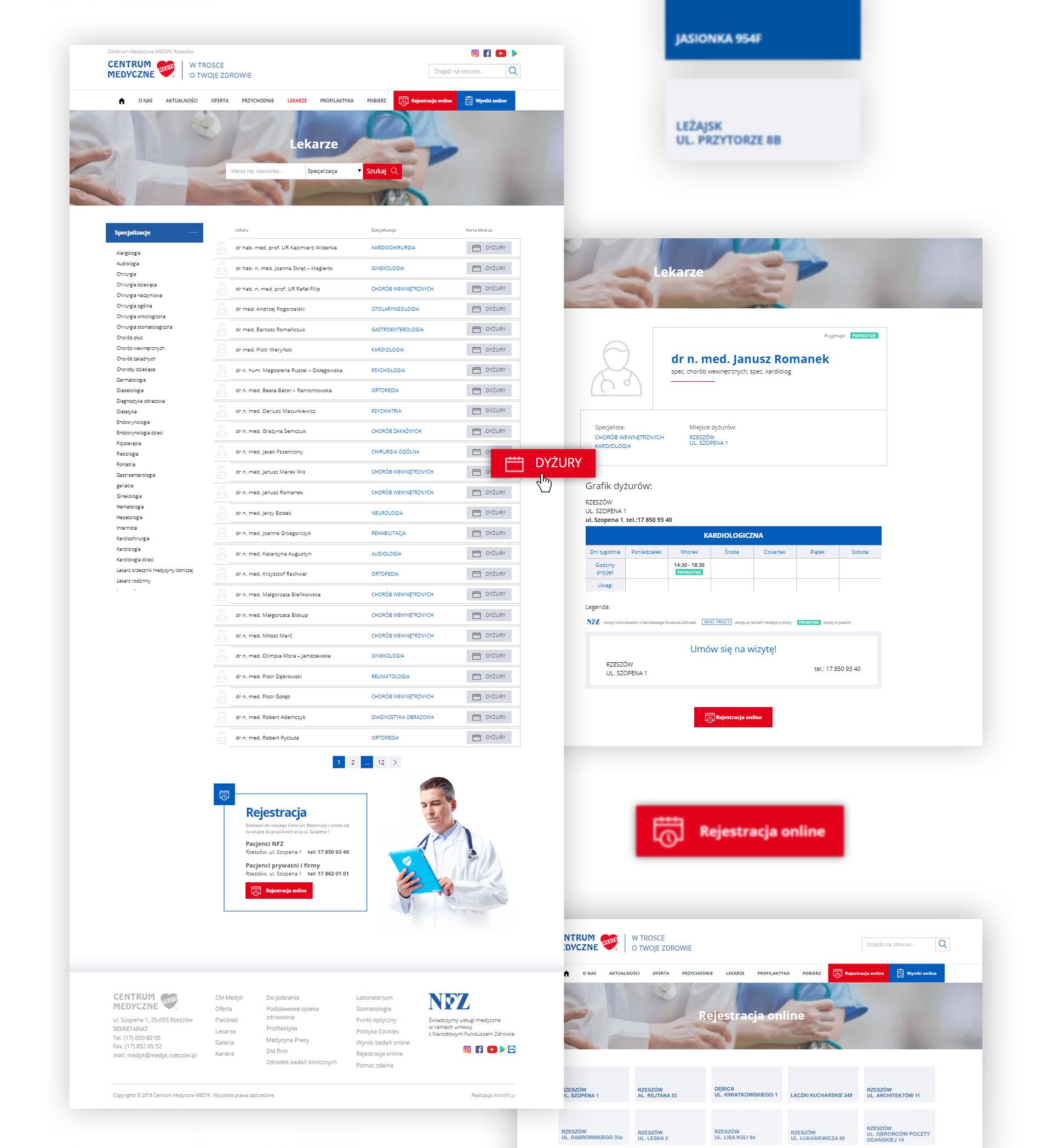 Medyk - Realizacja - Agencja ROXART
