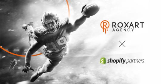 Roxart blog - ROXART jako oficjalny partner Shopify – najpopularniejszej platformy e-commerce na świecie!