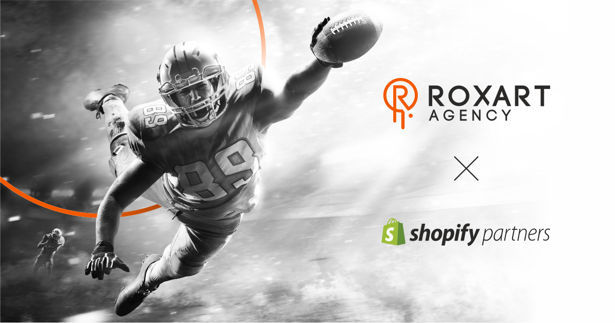 ROXART jako oficjalny partner Shopify – najpopularniejszej platformy e-commerce na świecie!