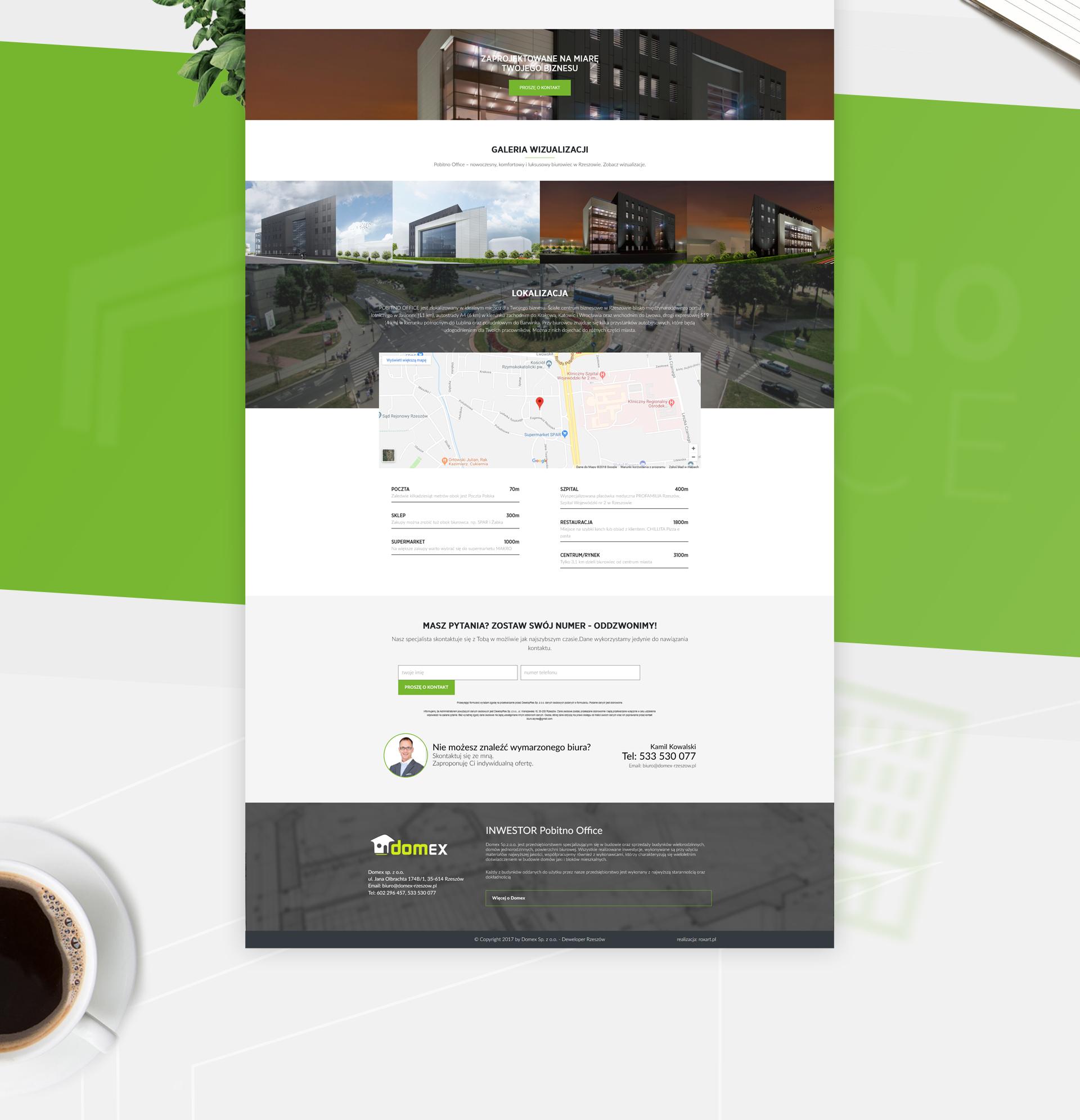 Pobitno Office - Realizacja - Agencja ROXART