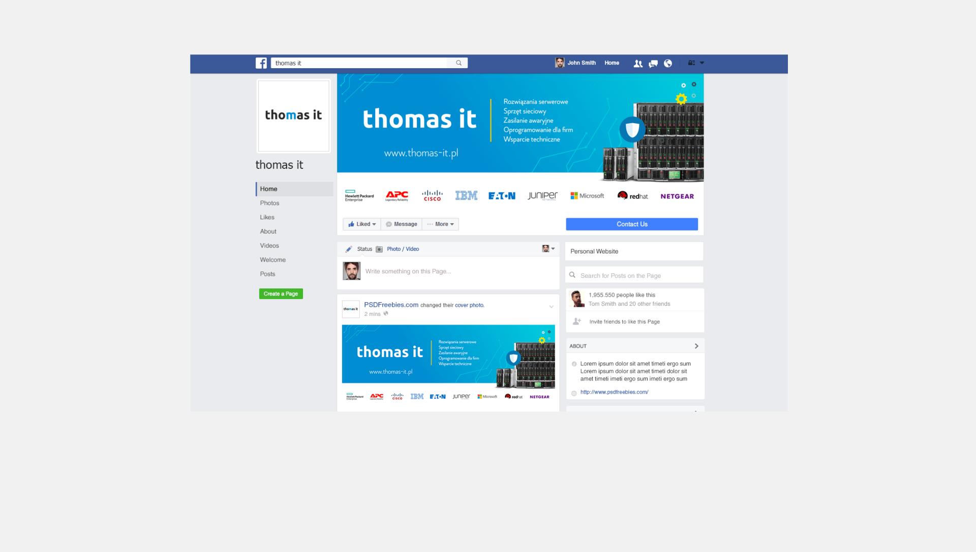 Thomas IT - Realizacja - Agencja ROXART