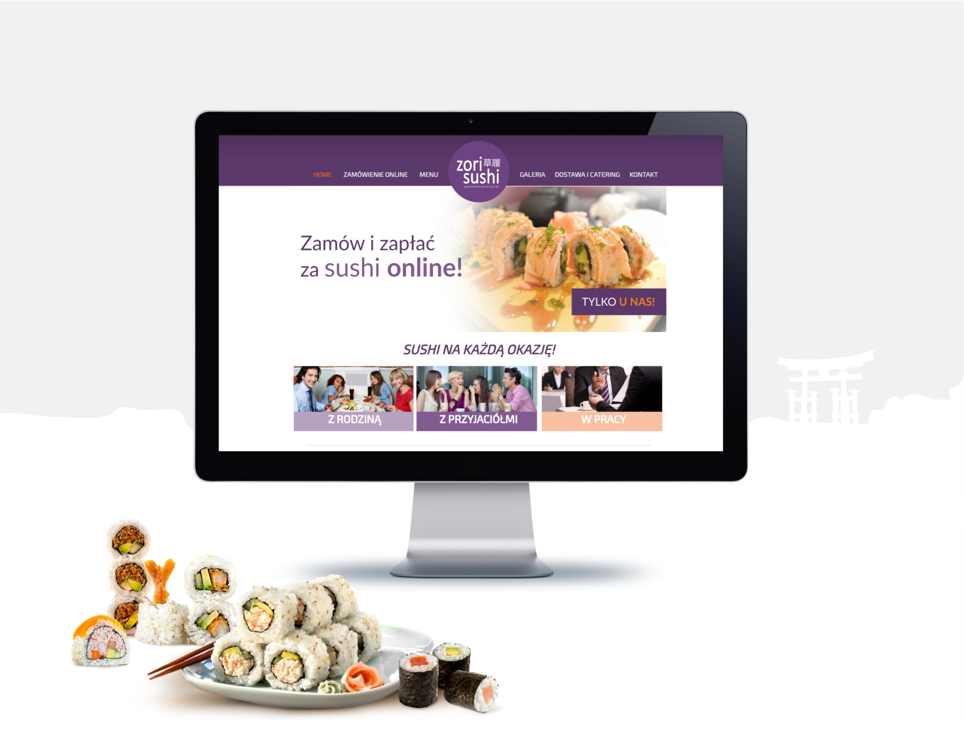 Zori Sushi - Realizacja - Agencja ROXART